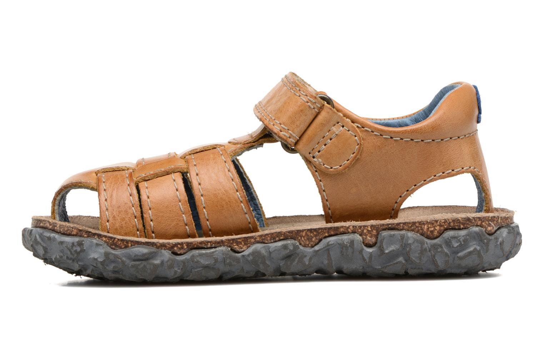Sandales et nu-pieds Stones and Bones Raxi Beige vue face