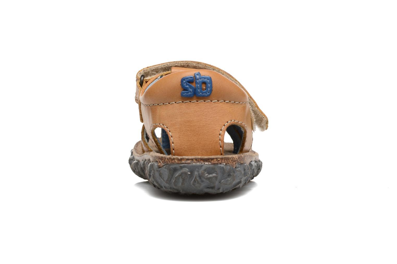 Sandales et nu-pieds Stones and Bones Raxi Beige vue droite