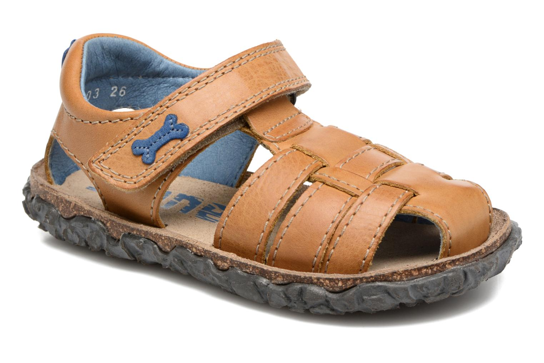 Sandales et nu-pieds Stones and Bones Raxi Beige vue détail/paire