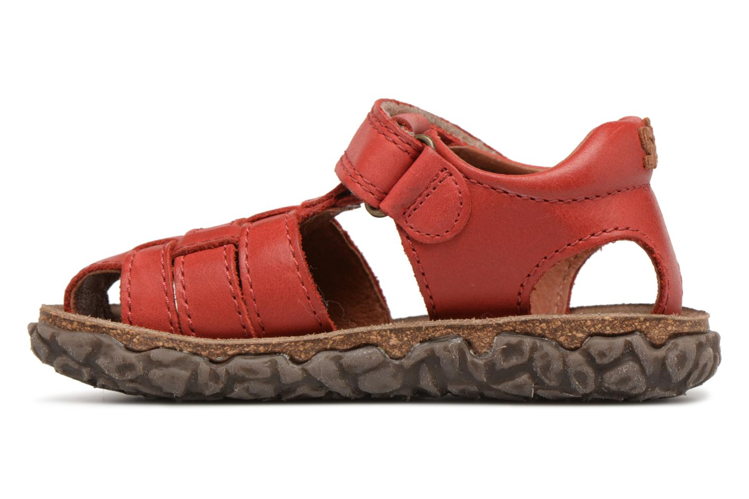 Sandals Stones and Bones Raxi Red front view