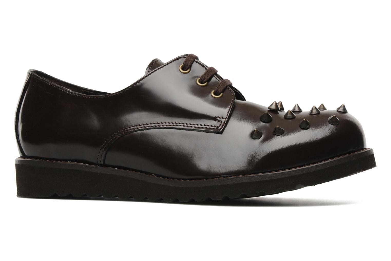 Snörade skor Jonak Polido Brun bild från baksidan