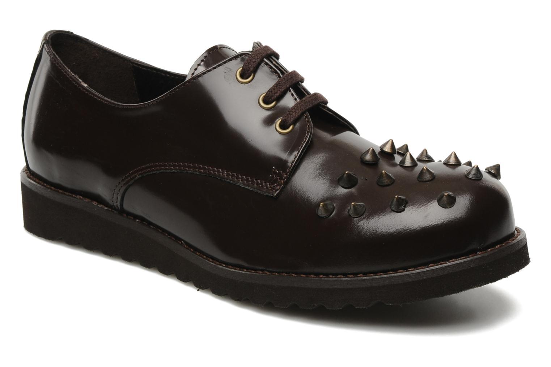 Chaussures à lacets Jonak Polido Marron vue détail/paire