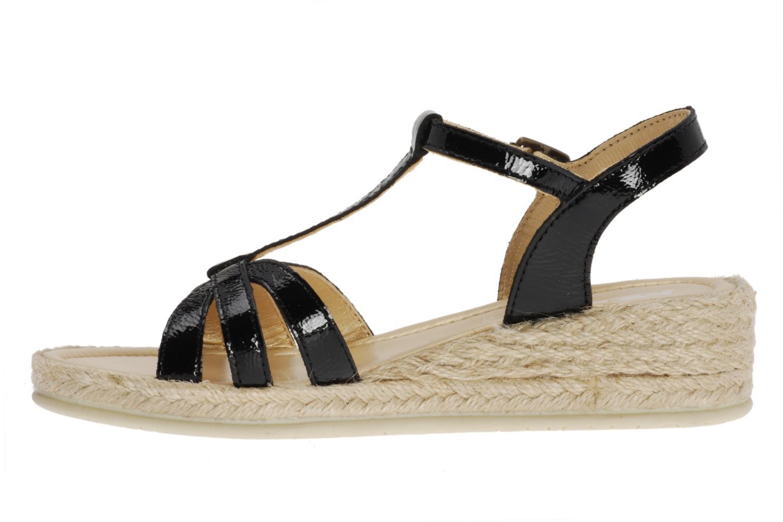 Sandalen Mod8 Espere schwarz ansicht von vorne