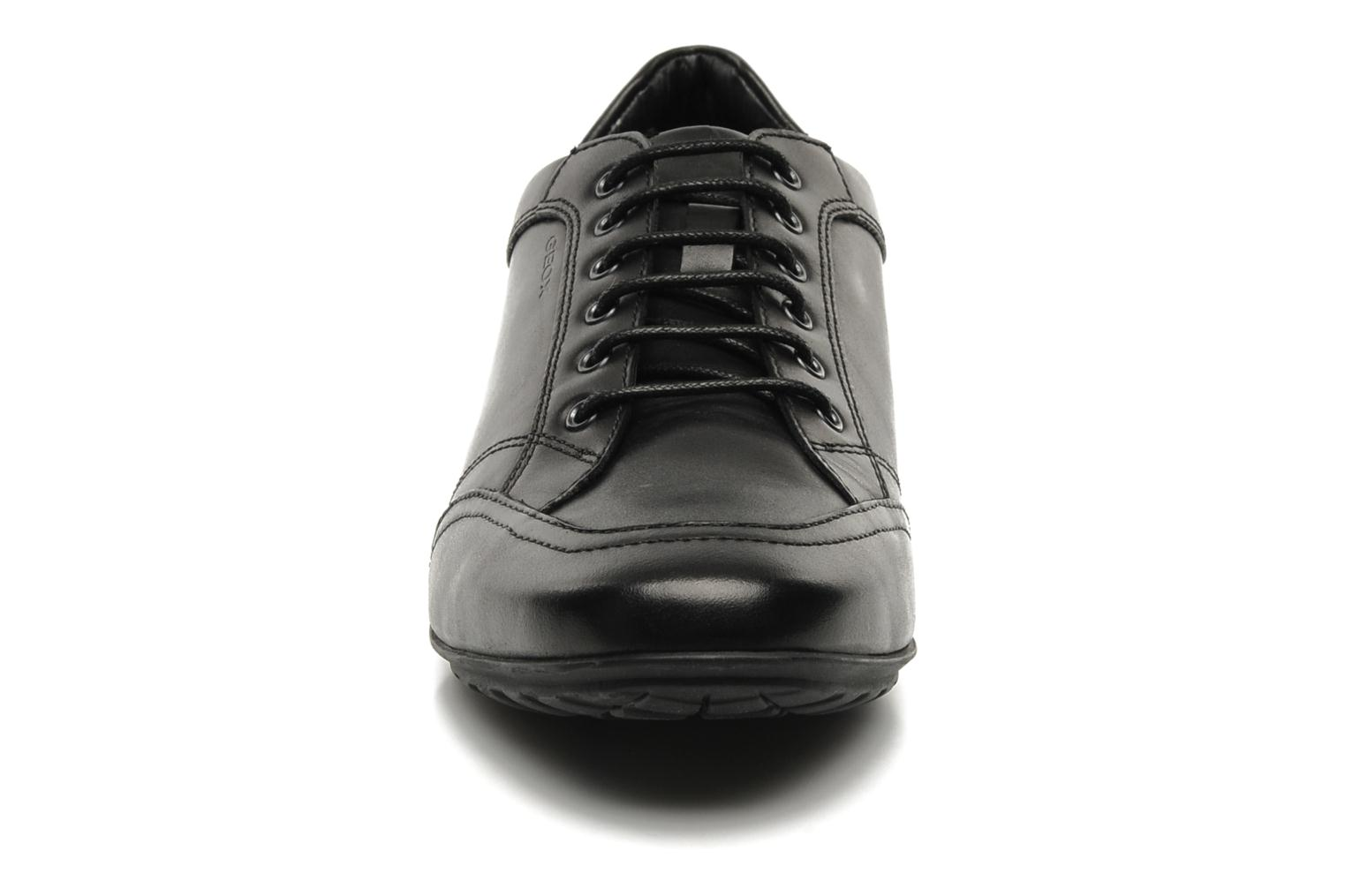 Lace-up shoes Geox U James B Black model view