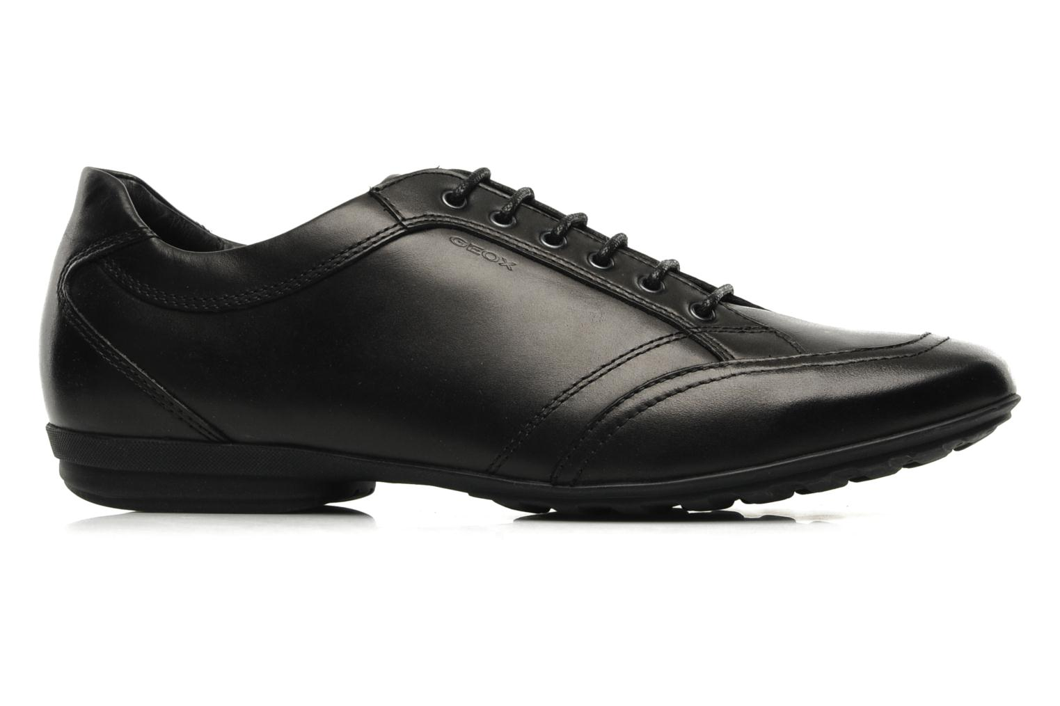 Lace-up shoes Geox U James B Black back view