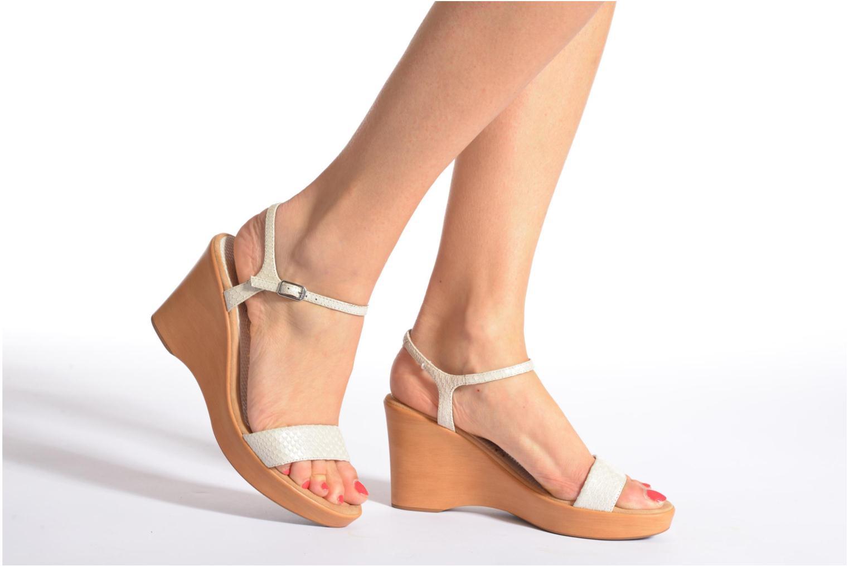 Sandalen Unisa Rita mehrfarbig ansicht von unten / tasche getragen