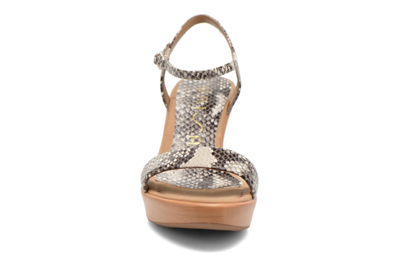 Sandales et nu-pieds Unisa Rita Multicolore vue portées chaussures