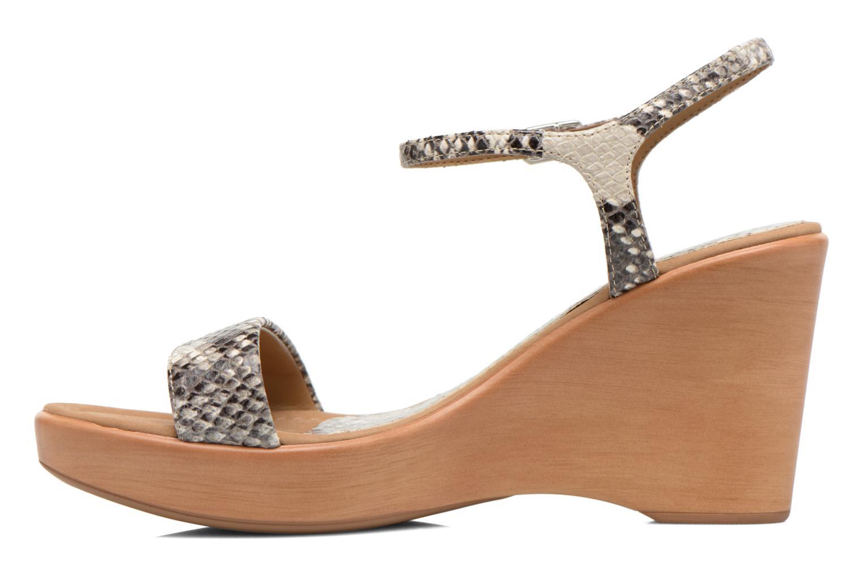 Sandales et nu-pieds Unisa Rita Multicolore vue face