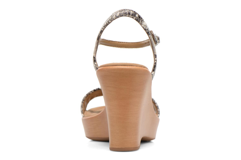 Sandales et nu-pieds Unisa Rita Multicolore vue droite