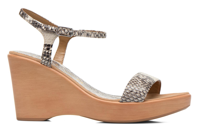 Sandales et nu-pieds Unisa Rita Multicolore vue derrière