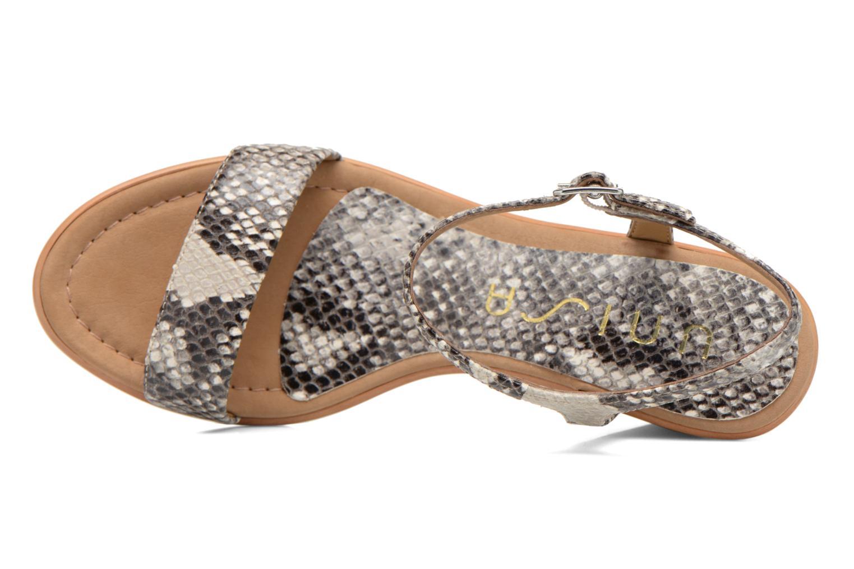 Sandales et nu-pieds Unisa Rita Multicolore vue gauche