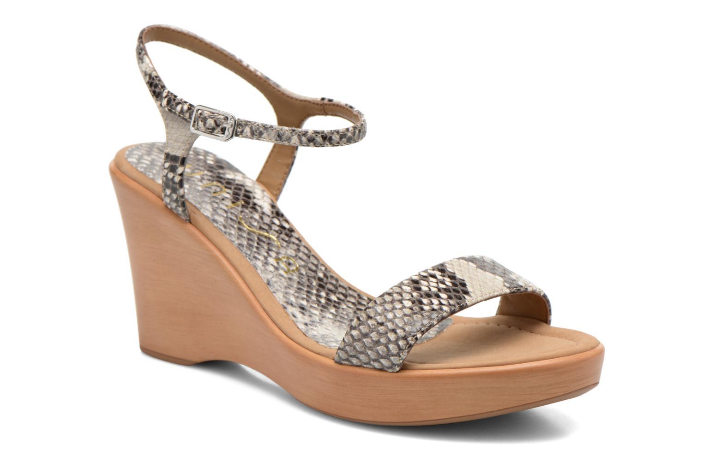 Sandales et nu-pieds Unisa Rita Multicolore vue détail/paire