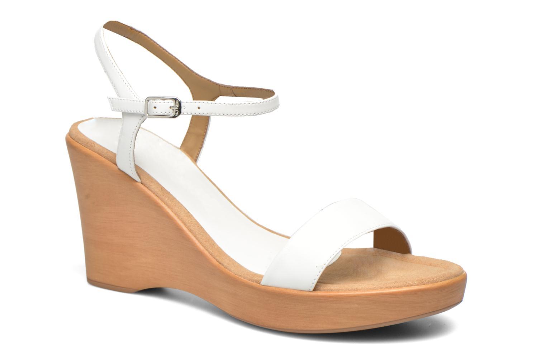 Sandales et nu-pieds Unisa Rita Blanc vue détail/paire
