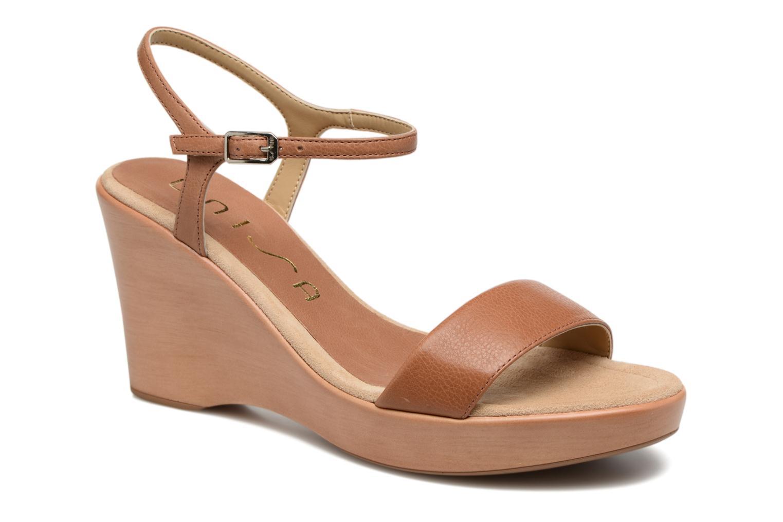 Sandali UNISA escarpe marroni Pelle Para La Venta Barata gqpbH4fxHY