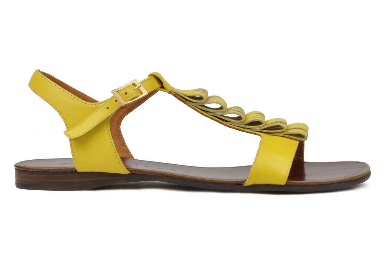 Sandales et nu-pieds Chie Mihara Marieta Jaune vue derrière