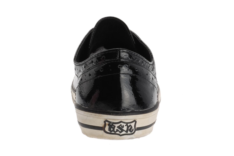 Sneaker Ash Verso schwarz ansicht von rechts