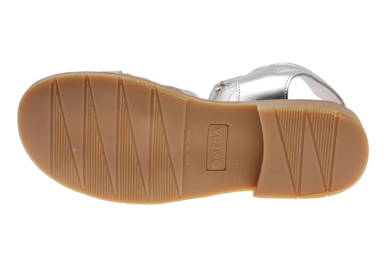 Sandales et nu-pieds Natik Natika 559 Argent vue haut