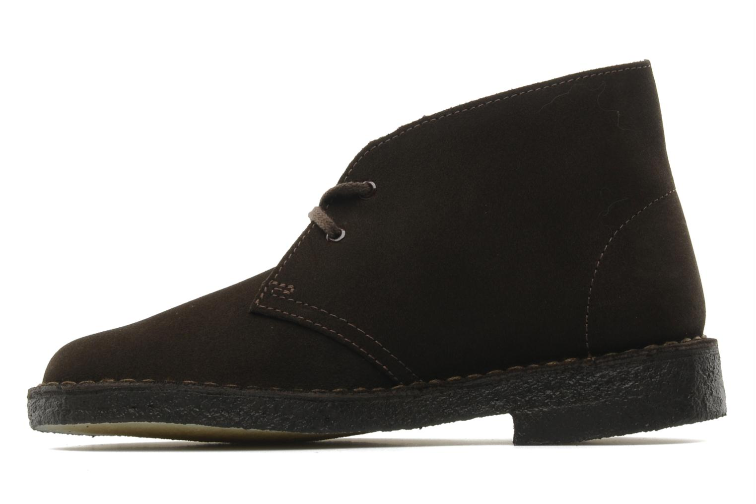 Desert Boot W Brown Suede