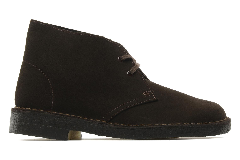 Scarpe con lacci Clarks Desert Boot W Marrone immagine posteriore