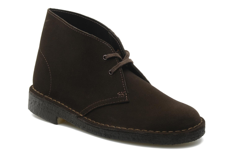 W Desert Boot - Chaussures À Lacets Pour Femmes / Bleu Clarks xwtZAY