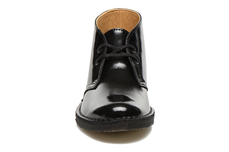 Desert Boot W Black pat