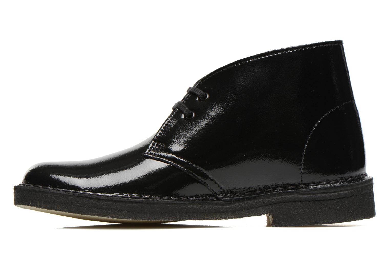 Chaussures à lacets Clarks Desert Boot W Noir vue face