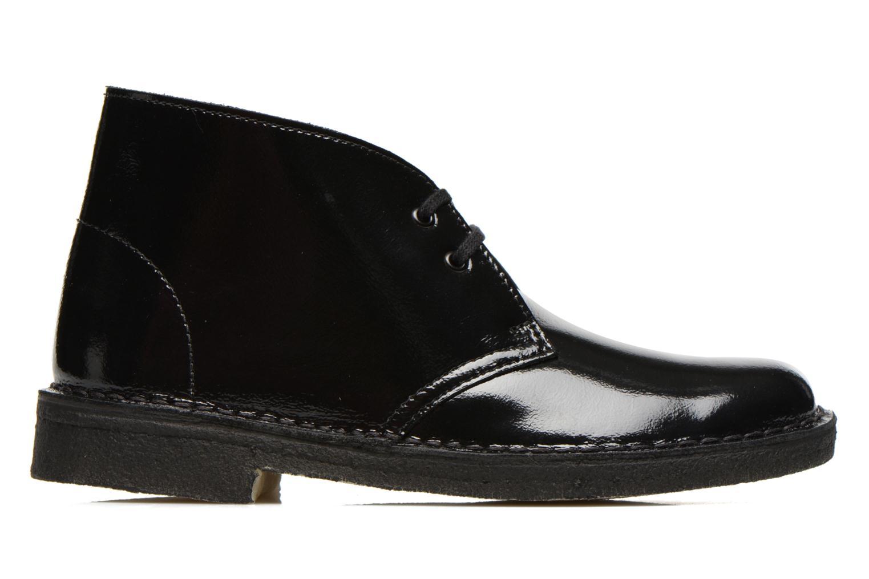 Chaussures à lacets Clarks Desert Boot W Noir vue derrière