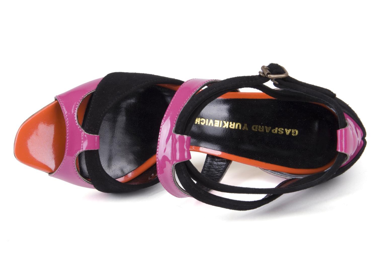 Brioni Black orange pink