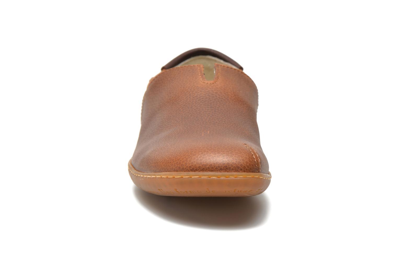 Mocassins El Naturalista El Viajero N275 Marron vue portées chaussures