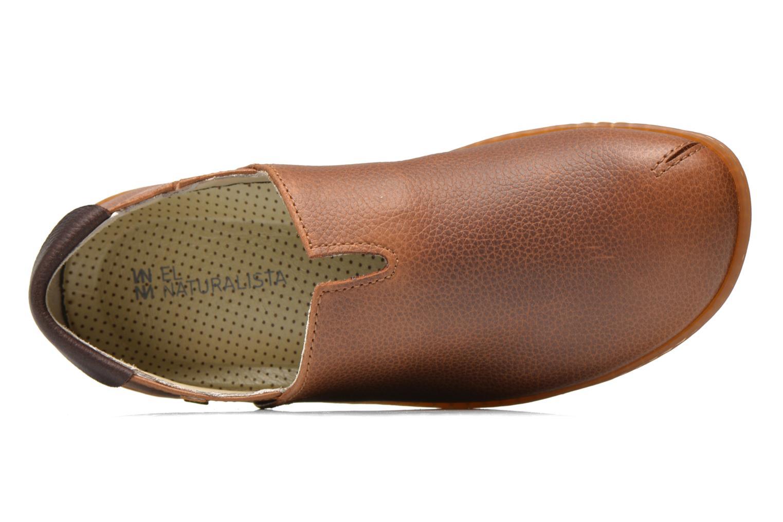 Loafers El Naturalista Viajero Moc N°275 Brun bild från vänster sidan