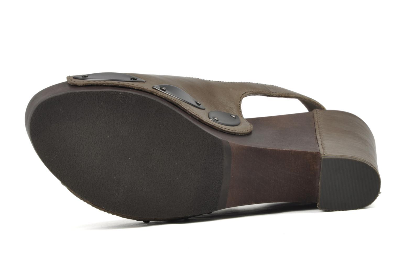 Sandales et nu-pieds Belle Melania Marron vue haut