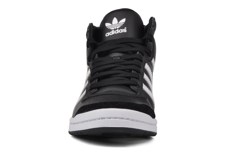 Baskets Adidas Originals Top Ten Hi Sleek Noir vue portées chaussures