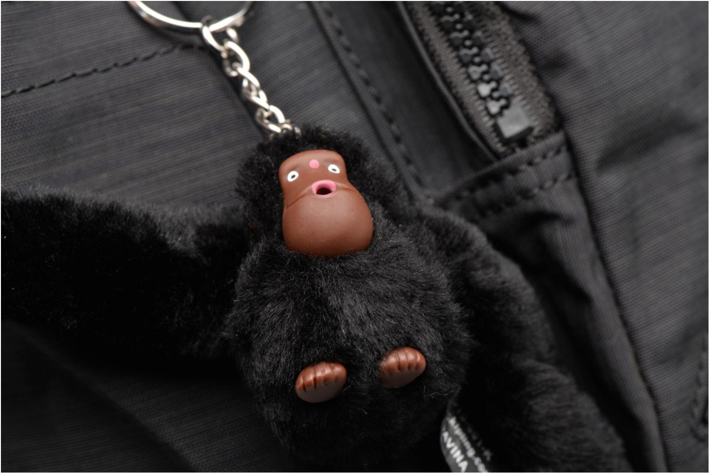 Handtaschen kipling Defea schwarz ansicht von links