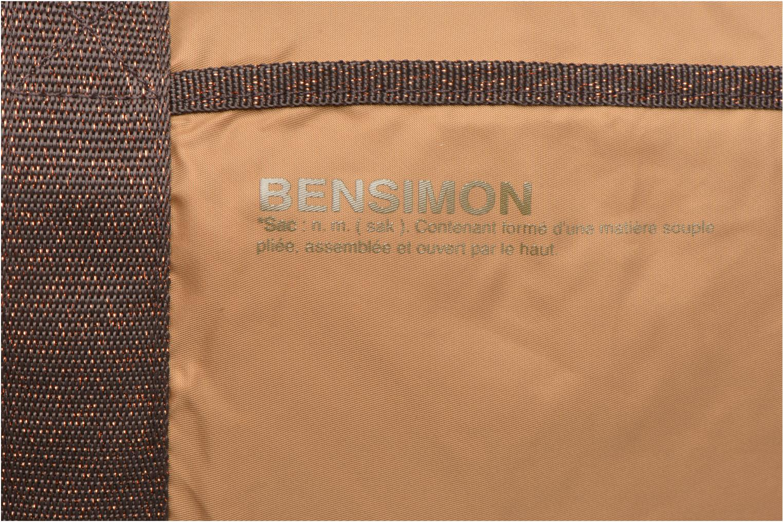 Sacs de sport Bensimon Color Bag Beige vue gauche