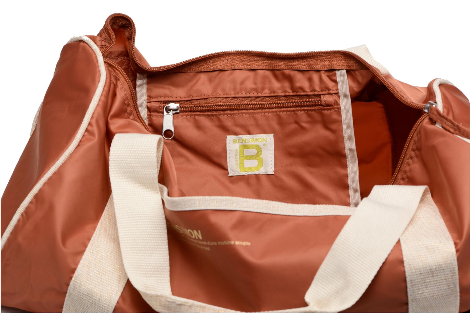 Sacs de sport Bensimon Color Bag Marron vue derrière