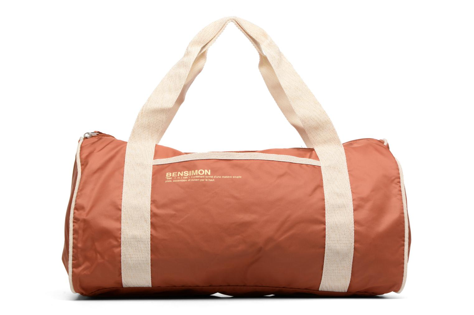 Sacs de sport Bensimon Color Bag Marron vue détail/paire