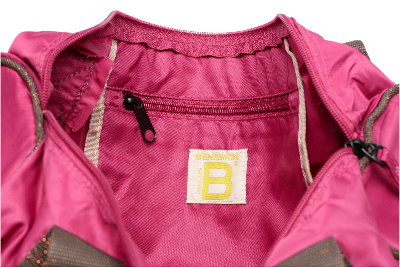Sporttassen Bensimon Color Bag Roze achterkant