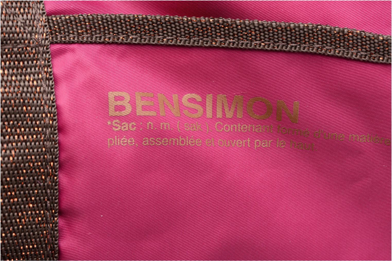 Bolsas de deporte Bensimon Color Bag Rosa vista lateral izquierda