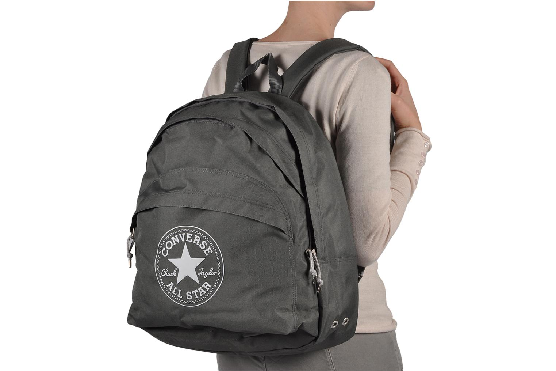 Rugzakken Converse Backpack Grijs boven