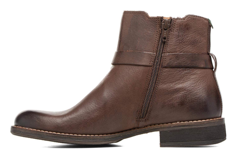 Boots Kickers Smack Brun bild från framsidan