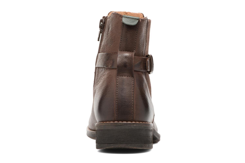 Boots en enkellaarsjes Kickers Smack Bruin rechts