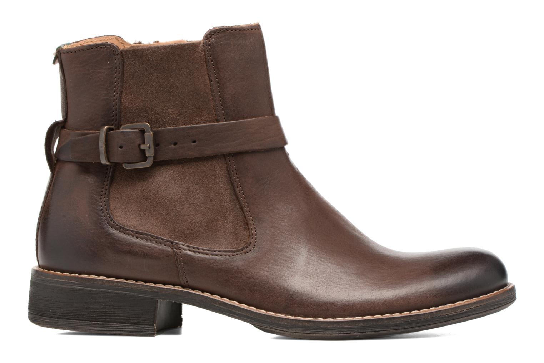 Boots en enkellaarsjes Kickers Smack Bruin achterkant