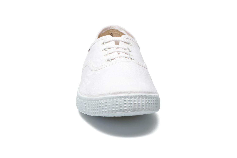 Baskets Victoria Victoria M Blanc vue portées chaussures