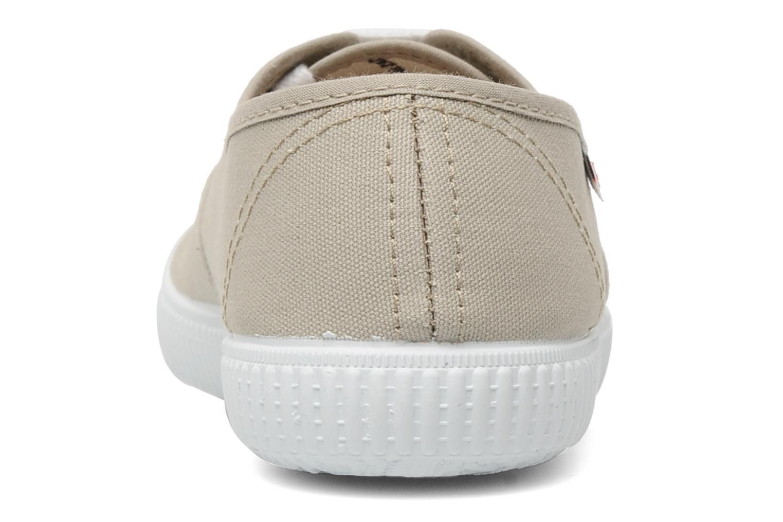 Sneakers Victoria Victoria W Beige rechts