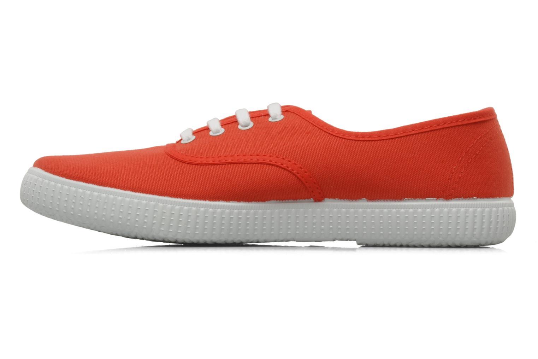 Sneaker Victoria Victoria W orange ansicht von vorne