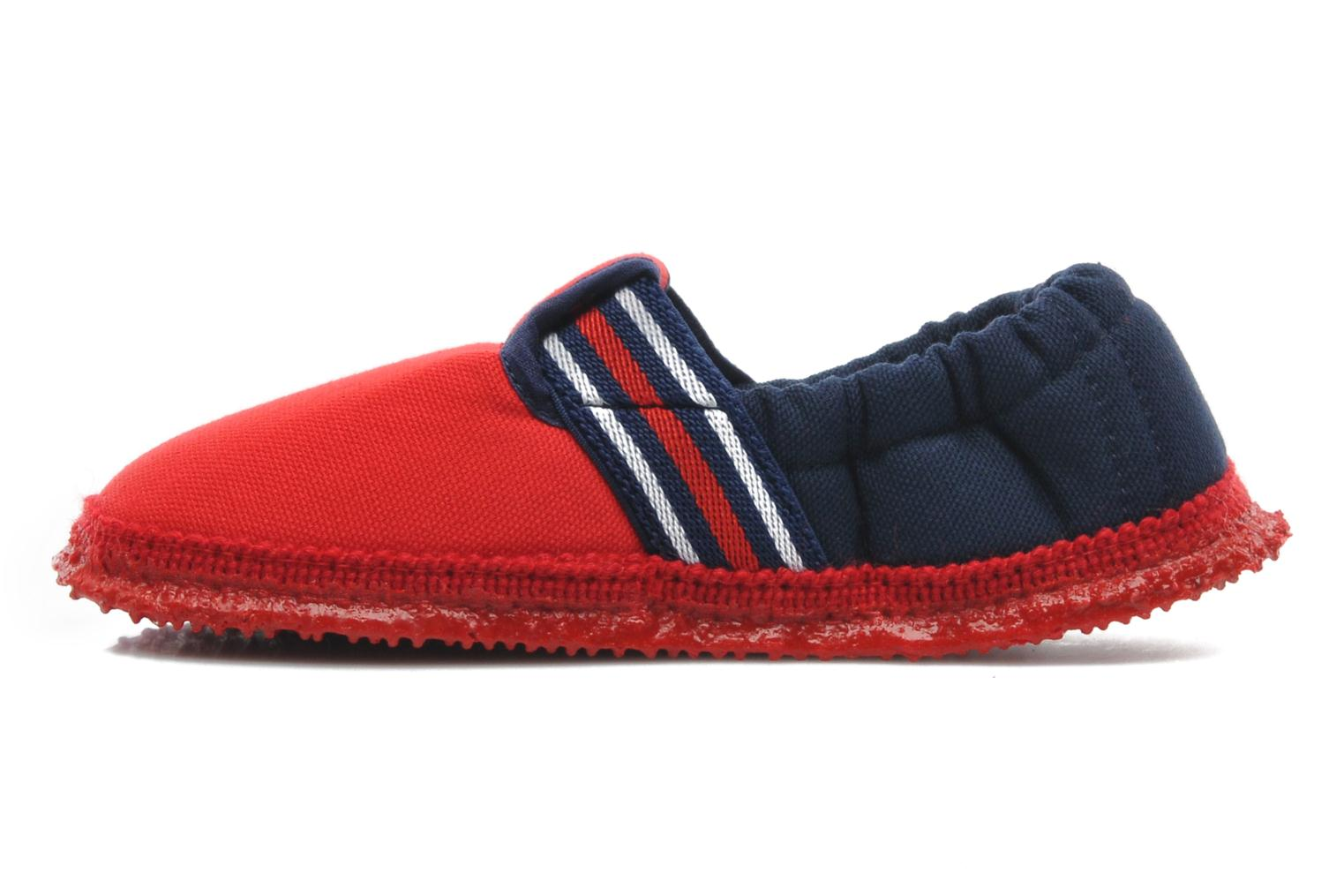 Slippers Giesswein Aichach Red front view