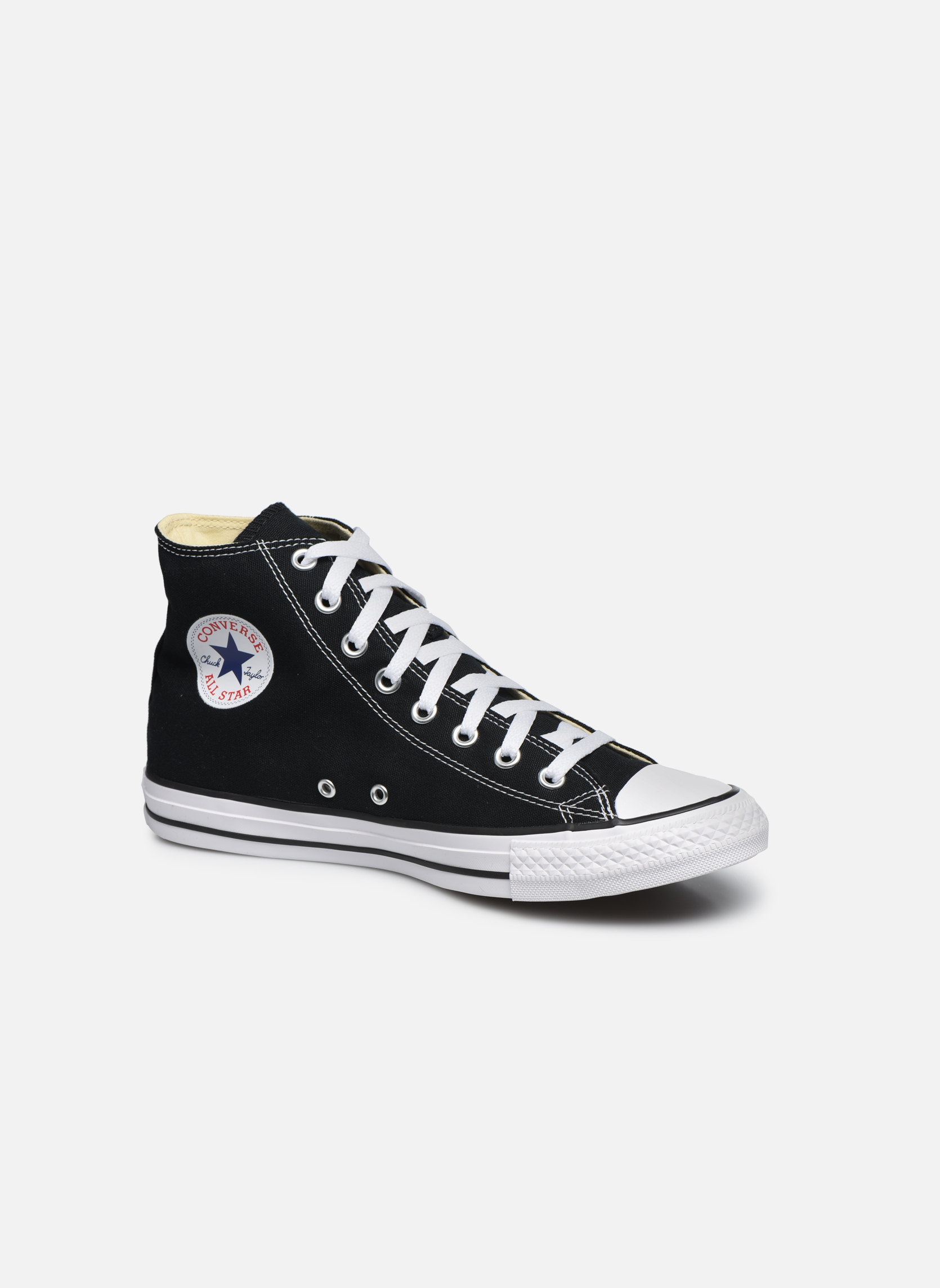 Converse Chuck Taylor All Star Hi M (Noir) - Baskets chez Sarenza (24760)