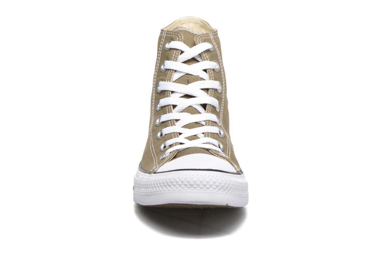 Sneaker Converse Chuck Taylor All Star Hi M grün schuhe getragen