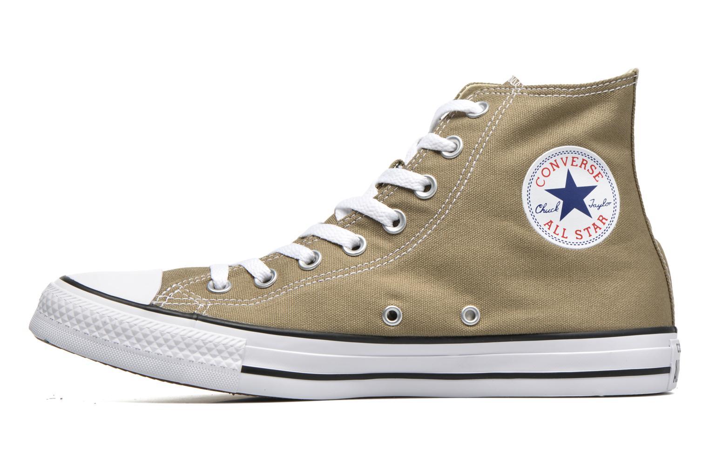 Sneaker Converse Chuck Taylor All Star Hi M grün ansicht von vorne