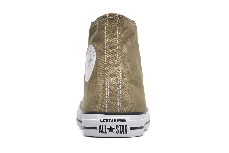 Sneaker Converse Chuck Taylor All Star Hi M grün ansicht von rechts